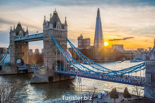 پل مشهور تاور بریج در لندن